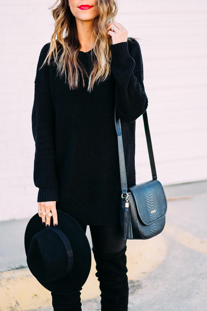 Head to Toe Black Style